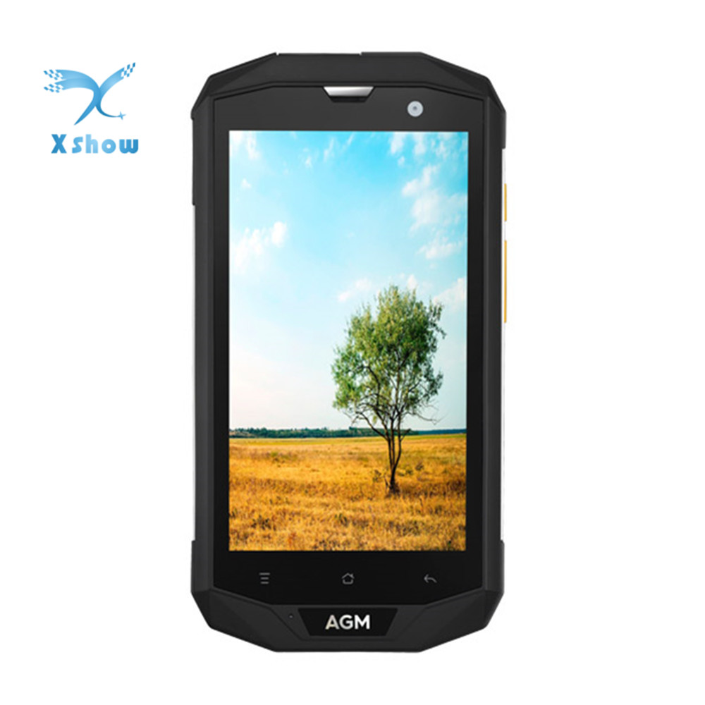 "Original AGM A8 SE IP68 Wasserdichte Handy 5,0 ""HD 2 GB RAM 16 GB ROM Qualcomm MSM8916 Quad core 8MP 4050 mAh Smartphone"