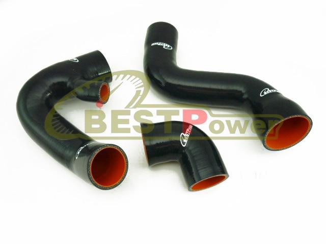 Silicone Turbo Hose Pipe Tube Black for 02 03 04 05 Audi A4 B6 B7 VW Passat B6 1.8T / Wholesale / retail. gplus silicone intercooler turbo pipe hose kit for audi a4 vw passat b5 1 8t 94 05