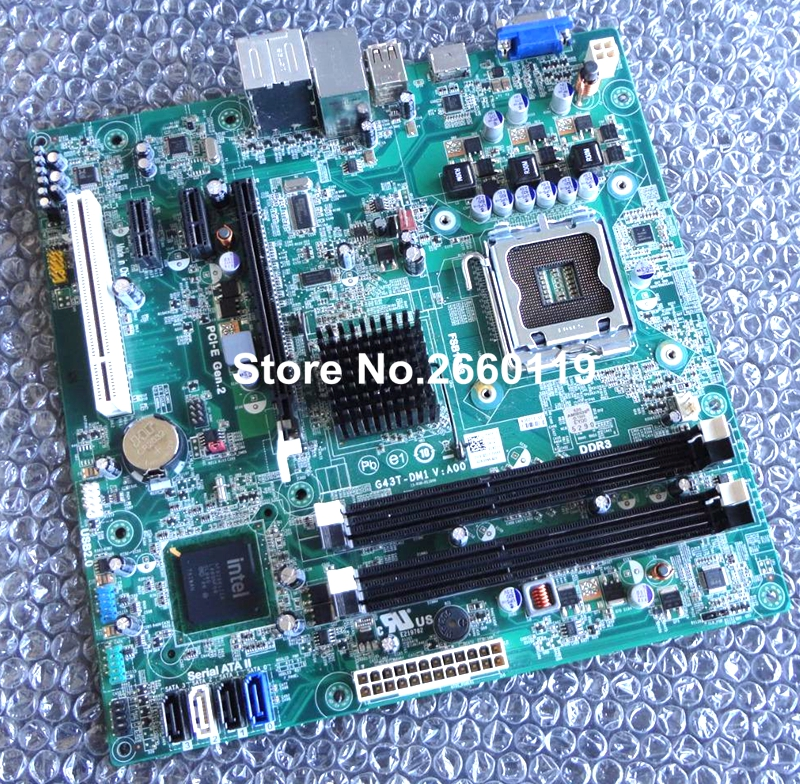 100 Working For Dell 560 560S G43T DM1 Desktop Motherboard 18D1Y K83V0 Fully Tested