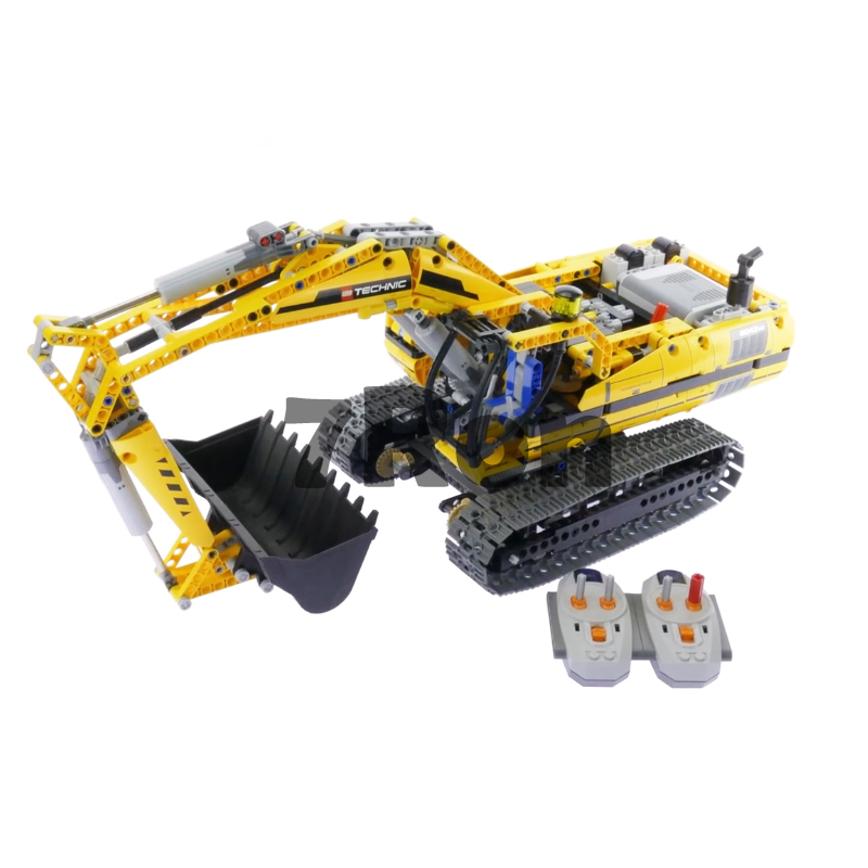 Model building toys hobbies 20007 Compatible With lego Technic Blocks 8043 Motorized Excavator Educational DIY Bricks 196pcs building blocks urban engineering team excavator modeling design