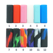 5pcs Texture Case Skin for Vaporesso Luxe Nano 80W TC Box mod Silicone Cover Sleeve Wrap shell gel Vape Mod Shield
