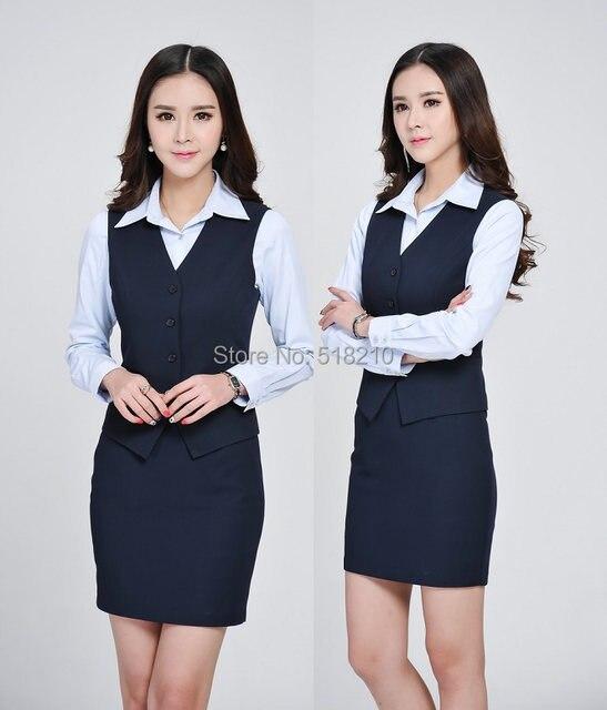 online shop formal elegant dark blue spring summer business work