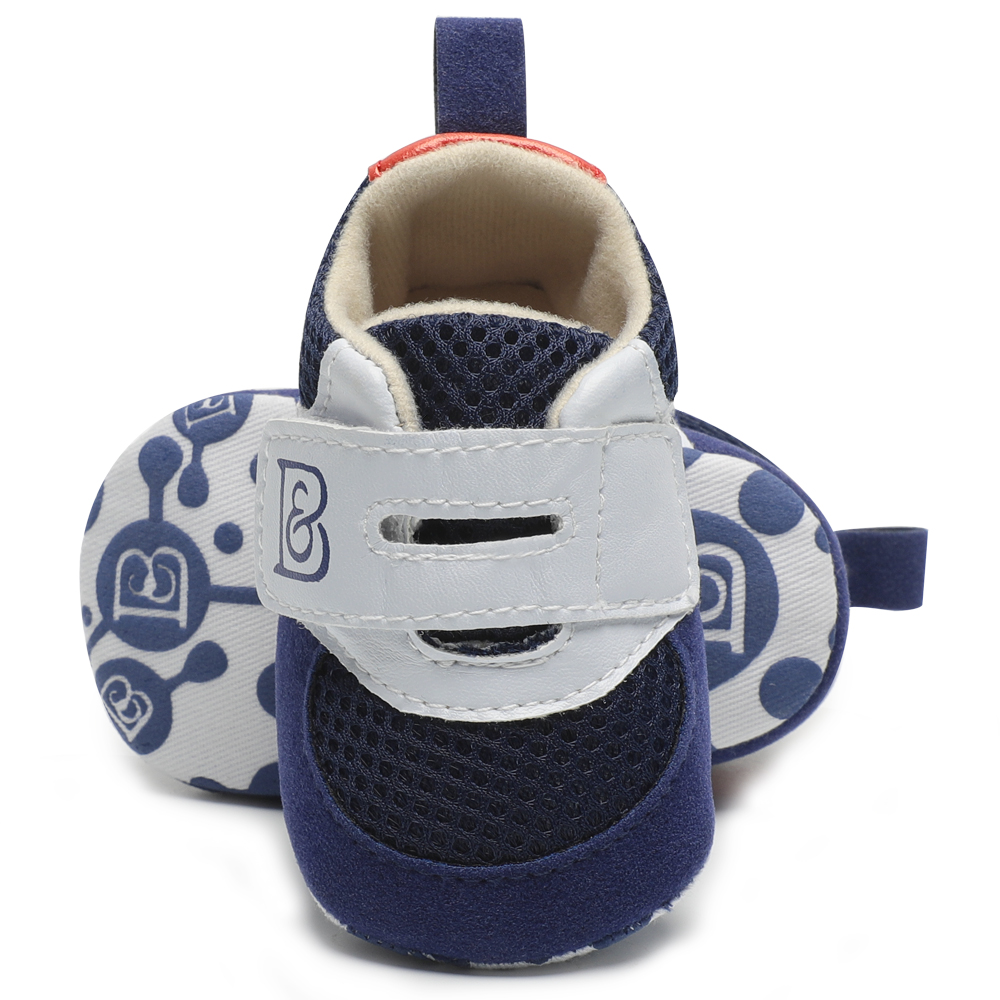 Unisex Infant Baby Shoes First Walkers Soft Soled PU Leather Crib Shoes Newborn Moccasins Toddler Boy Sneakers Booties