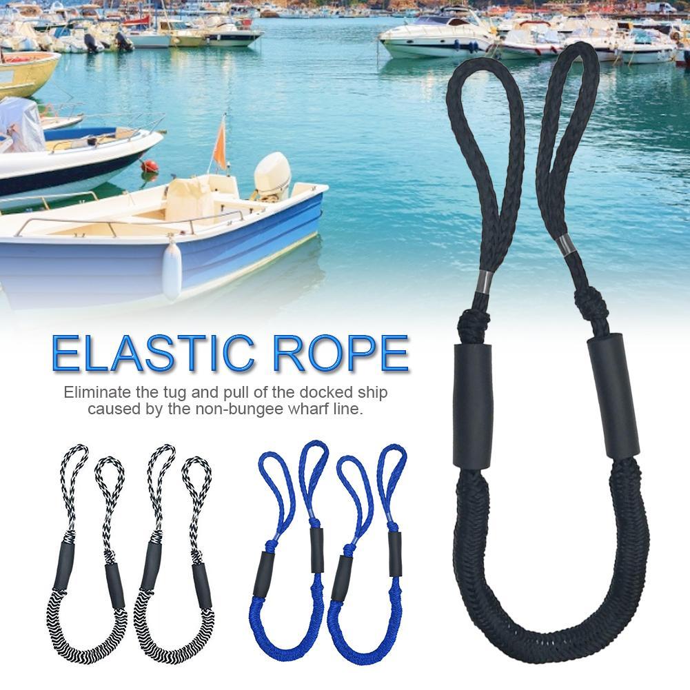 Растягивающаяся швартовая веревка для лодок, шнур для амортизации, стыковочный шнур для лодок, Гидроциклов, Каяка, Понтона, лодок PWC