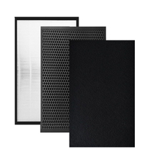 1 set(3pcs) Air Purifier Part  FU-Y180SW HEPA Dust Collection Filter for Sharp KC-GD10/GB10-W/A/B
