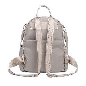 Image 3 - Atinfor à prova dwaterproof água anti roubo náilon pequena mochila feminina bolsa de ombro de viagem mochilas