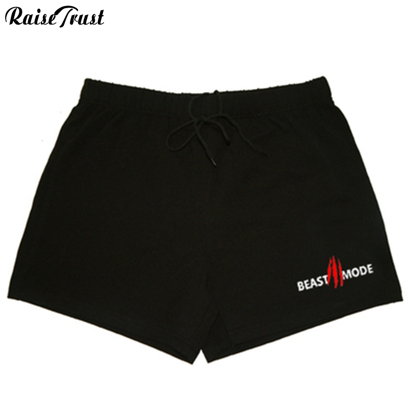 Men's Shorts Powerhouse Bodybuilding High-Quality 100%Cotton Fitness with