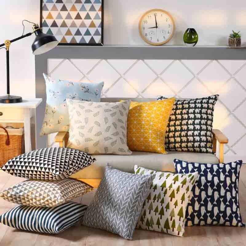 Adaptable Cojines Pineapple Leaf Yellow Throw Pillow Case Sofa Car Waist Cushion Cover Home Decor Kussenhoes Housse De Coussin Pillowcases Home Textile Home & Garden