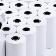 3 Roll Printable Sticker Paper Direct Thermal Self-Adhesive 57x30mm for PAPERANG Portable Pocket Printer