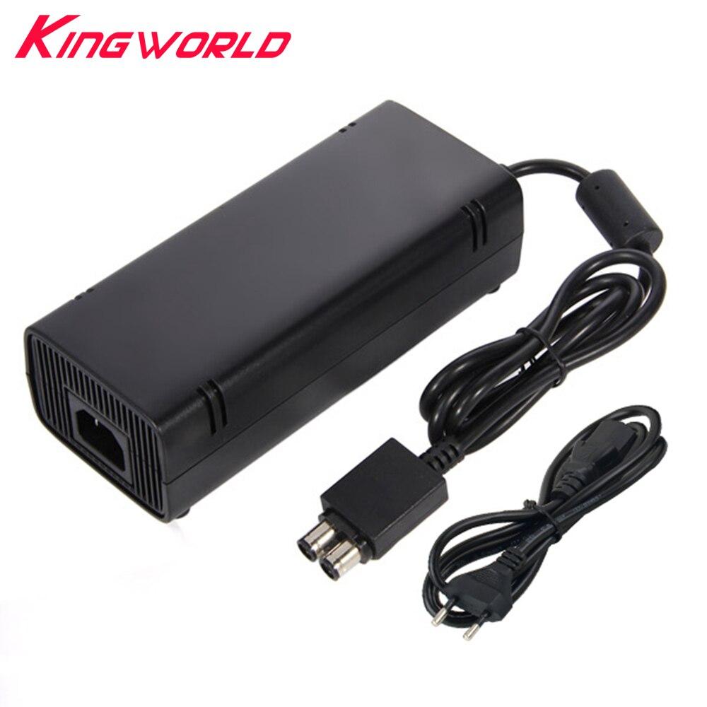 Haute qualité UE Plug AC Adaptateur Chargeur De Charge Puissance 135 W Alimentation pour Microsoft Xbox 360 S Mince
