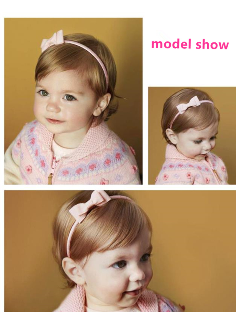 Cute bow headbands winter new Double Bowknot Kids Hair Hoop Baby Hairbands Fashion Comfortable hair accessories K10
