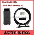 Con Verdadera OKI Chip!!! mejor calidad vas5054 VAS 5054A ODIS V2.0 Bluetooth Protocolo UDS Apoyo versión de chip Completo-envío libre de DHL