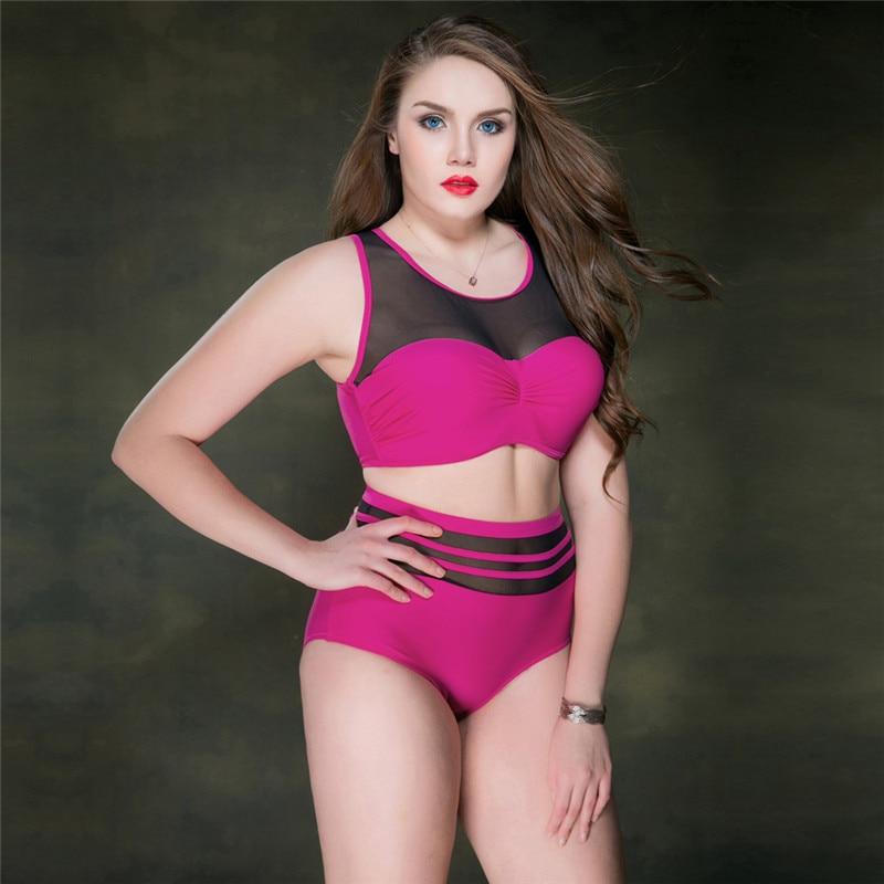Sexy High Waist Bikini Set Swimwear Women Swimsuit Push Up 2019 Womens Bikini Halter Top Bathing Suit Beachwear Biquini