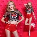 Ds костюмы новый бар перспектива сексуальное диджей певица одежды хип-хоп выступления ведущий танцор одежды сексуальный тонкий клубна