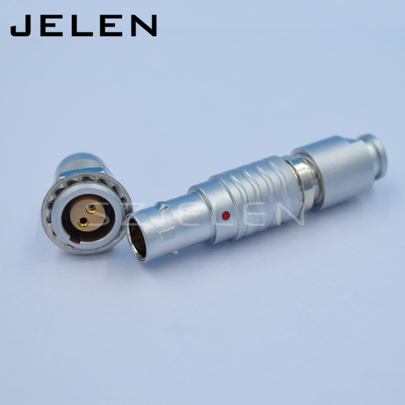 connector EGG.0B.302.CLL , FGG.0B.302 , Metal circular connector 2-pin plug and socket szjelen connector egg 0b 309 cll fgg 0b 309 clad z 9pin connector cable connector male and female connector