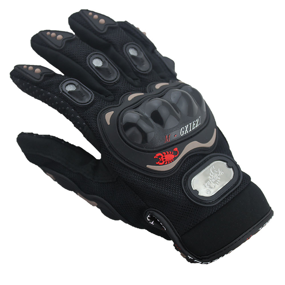 Image 3 - Breathable Gloves Leather Gloves Motorcycle Gloves Driving Road Bike Protective Gloves for Men-in Riding Gloves from Sports & Entertainment
