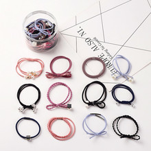 Head rope Korean 12-piece set small fresh and simple personality ponytail hair band rubber headdress ball ro