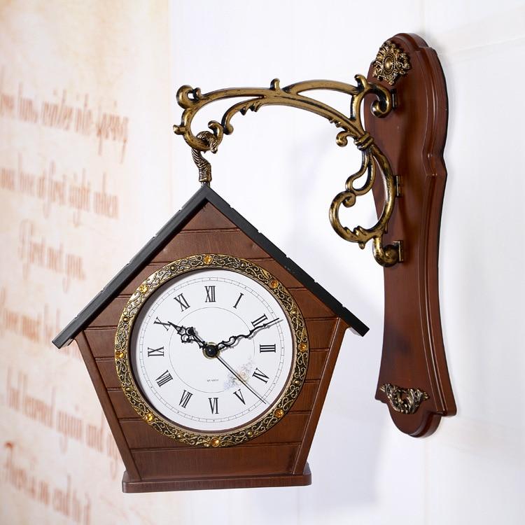 Permalink to Digital Double Sided Vintage Wall Clock Digital-watch Pow Patrol Wall Watch Mechanism Secret Stash Relogio Parede Clocks