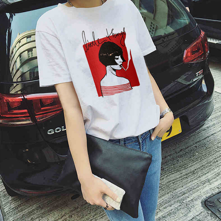 Литт вещь Wonder Woman для женщин футболка Летняя мода японский Большие размеры женская одежда Ariana Grande K поп в стиле панк-рок
