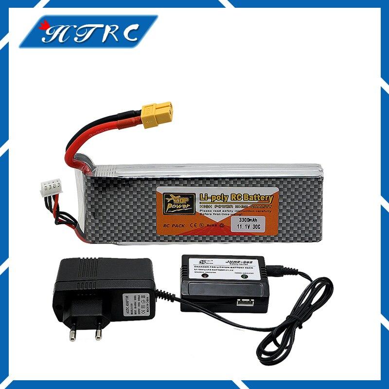 3S 11.1 V 3300mah 30C et chargeur Pour quadricoptres Hlicoptres RC Voitures Bateaux Haute Taux batteria lipo voiture pices