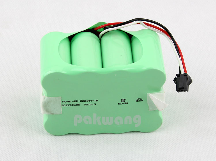 Pakwang original 1 pc Ni battery pack for XR510 robot vacuum cleaner Brands new robot battery 14.4v 2200mAh top quality xr510 robot vacuum cleaner 2200mah battery xr510 ni battery 1 pc