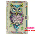 """Neweat Ultra-thin Painted Sixy Girl PU Leather Case With Card Slots For Apple iPad mini 4 7.9"""" Folio Stand Protector Skin Cover"""