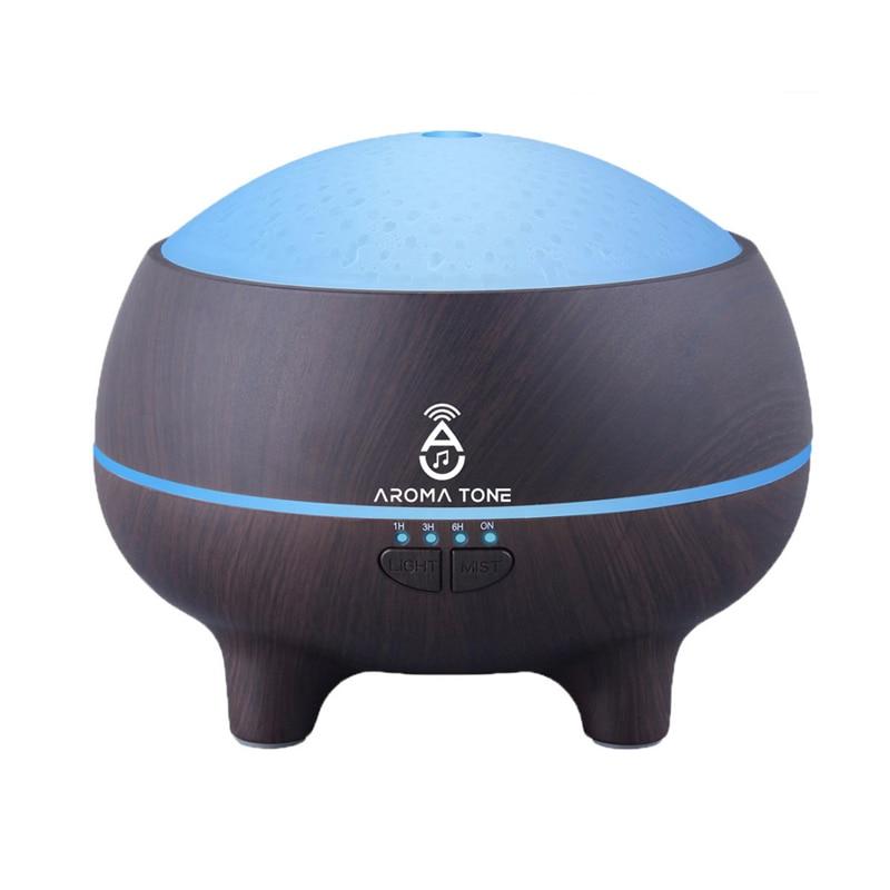 300ML Bluetooth humidificateur d'air à ultrasons arôme diffuseur d'huile essentielle électrique maison bureau purificateur d'air Portable brumisateur
