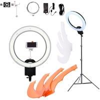 NanGuang CN R640 Kit 5600K 19 LED Photo Video Studio Phone Camera Macro Ring Light Lamp