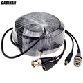 GADINAN BNC Cable 5M/10M/15M/20M/30M/40M/50M Optional CCTV Cable Video Output DC Plug Cable for AHD/Analog BNC System DVR Kit