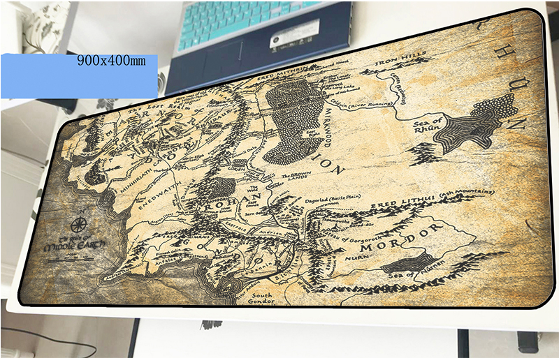 Lord of The Rings Rectangle Mouse Pad by Sakuraelieechyan