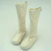 BJD boot china ancient style white color uncle strong uncle sooms id