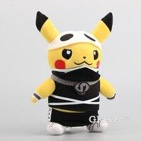 Sıcak Satış Pikachu Cosplay Ninja Sevimli Moda Peluş Oyuncaklar Yumuşak Dolması Bebekler Chilldren Moda Bebekler 12