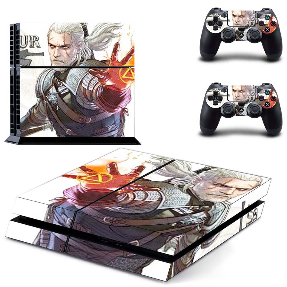 Fast Deliver Soul Calibur Skin Stickers For Sony Playstation 4 Console Video Games & Consoles