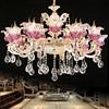 Living Room Lights Luxury Crystal Chandeliers Light Gold Chandelier Modern Chandelier Lighting Dining Room Lamp Hanging