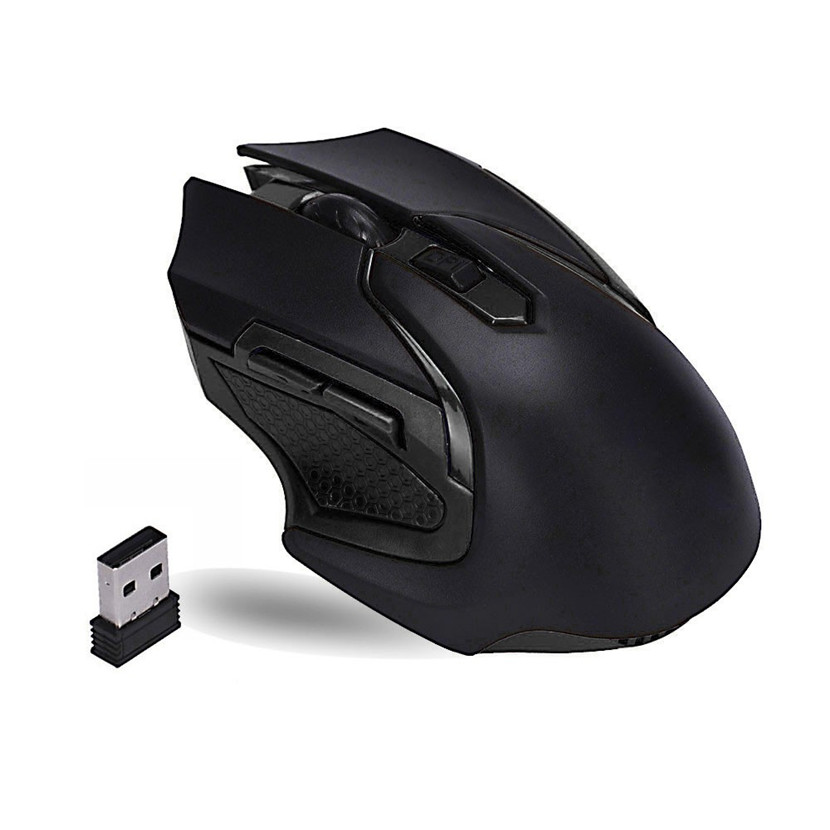 Mecall Tech 3200DPI 2.4GHz Wireless Optical Gaming Mouse Mice For Computer PC Laptop Free Shipping