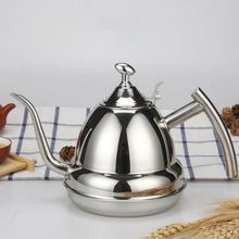 High quality Stainless Steel Gooseneck Puer infuser teapot Kettle Pot Home Kitchen Storage Water Induction Cooker Kettles
