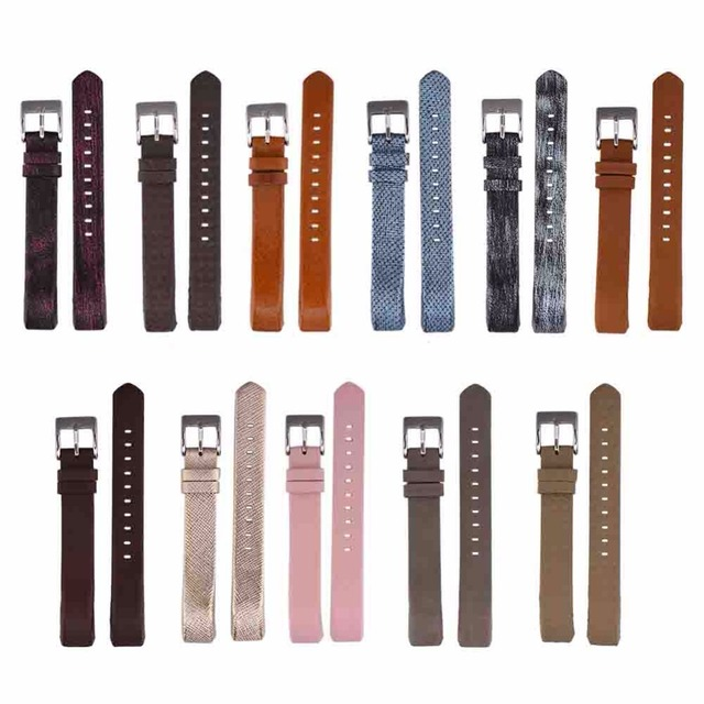 VBESTLIFE Genuine Leather Watch Smart Band Wrist Replacement Strap For Fitbit Alta