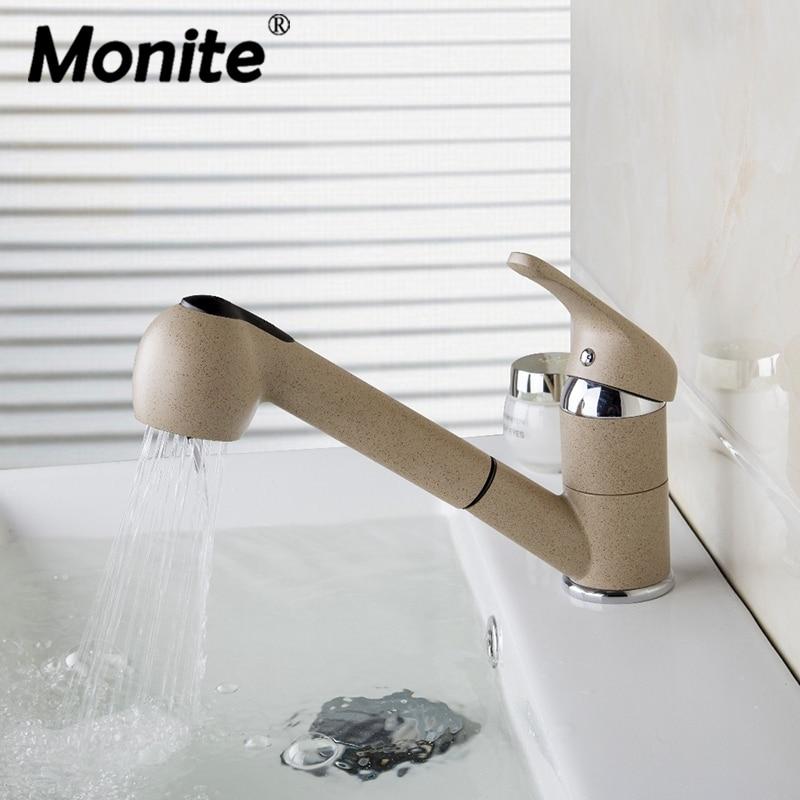 Aliexpress.com : Buy Bathroom faucet Mixer Tap Pull Out ...