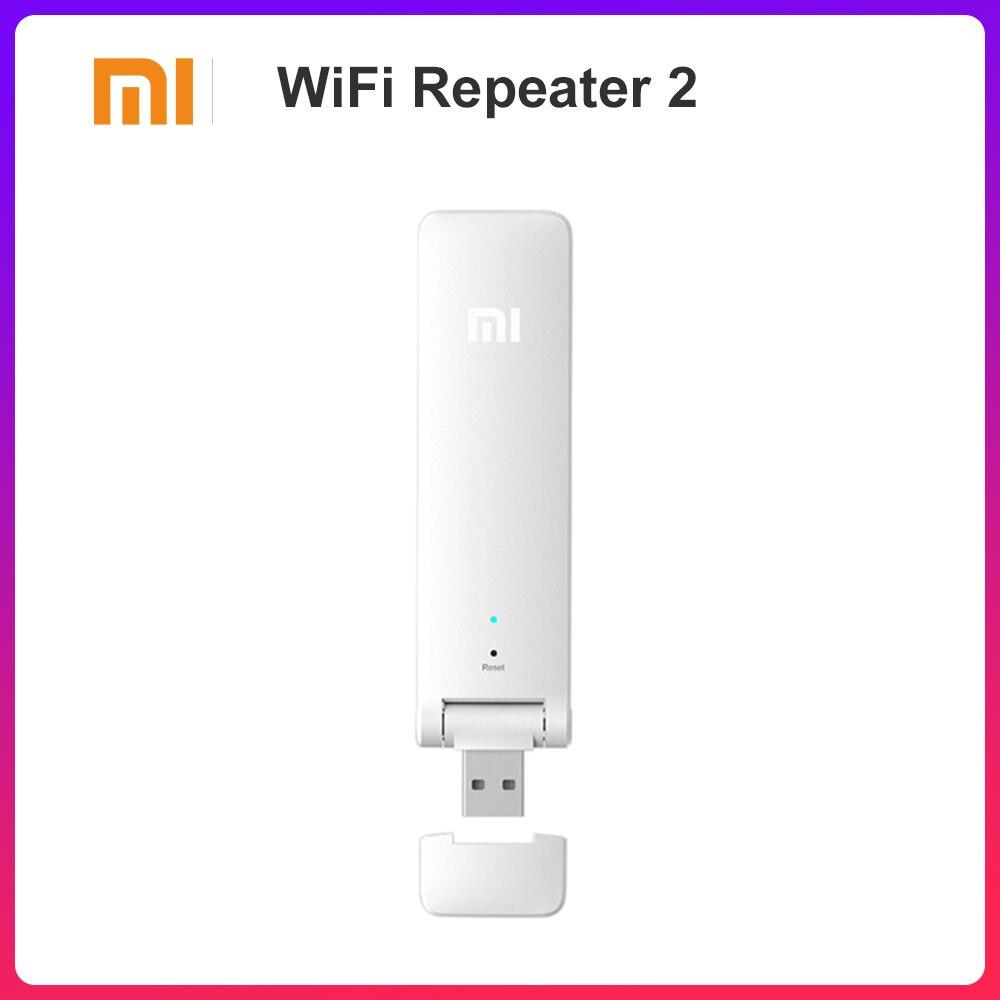 Mi Xiao mi WIFI Repeater 2 Wireless Verstärker Extender 2 Universal Repitidor Wi-Fi Extender 300 Mbps Netzwerk Router Extender
