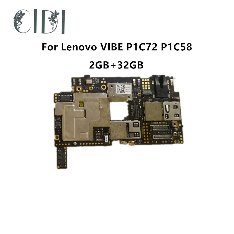 High Quality Used Tested Working mainboard For Lenovo VIBE P1 P1a42