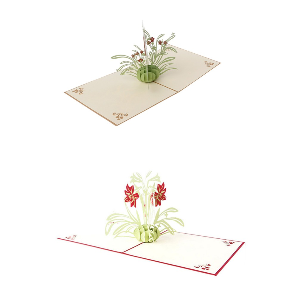 !3D Up Cards Daffodil Birthday Anniversary Mother/'s Day Thank You card