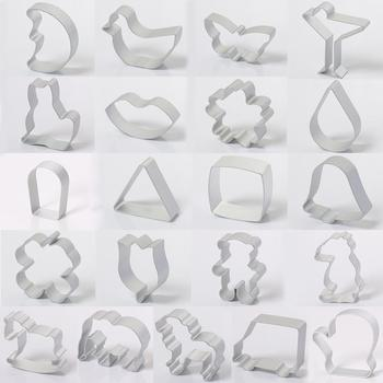 3D Animal Cookie Cutter Metal Aluminum Alloy Cookie Biscuit Frame Mould DIY Baking Pastry Mold Cake Decorating Tools