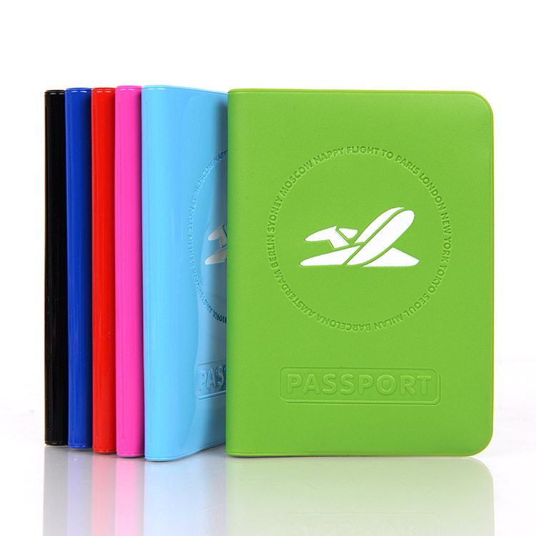 Travel Women Men PVC Passport Holder ID Card Bag Protective Card Ticket Organizer Multifunction Passport Cover free shipping