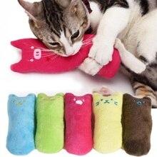 Смешной милый игрушечный Кот зубов и кошачья мята жевательная зубов игрушки для кошек Catnip когти Плюшевые собак и кошек сопротивление игрушка для домашнего животного когти с накатанной головкой
