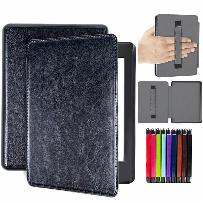 2019 New PU Leather Magnetic Case For Amazon Kindle Paperwhite 4 6