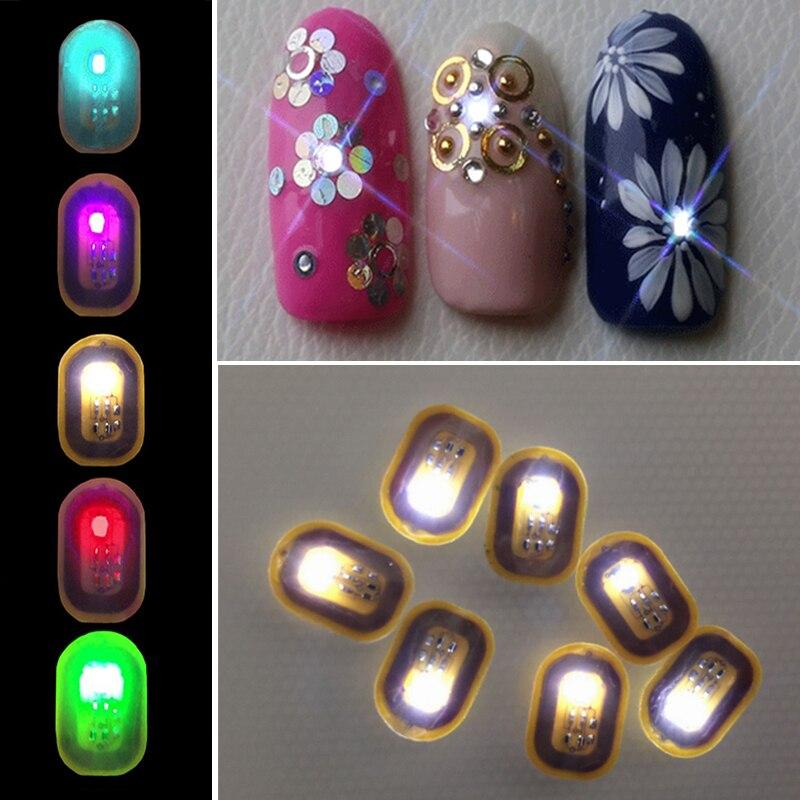Online Shop New Design NFC Intelligent Nail Sticker for Girls 3D ...