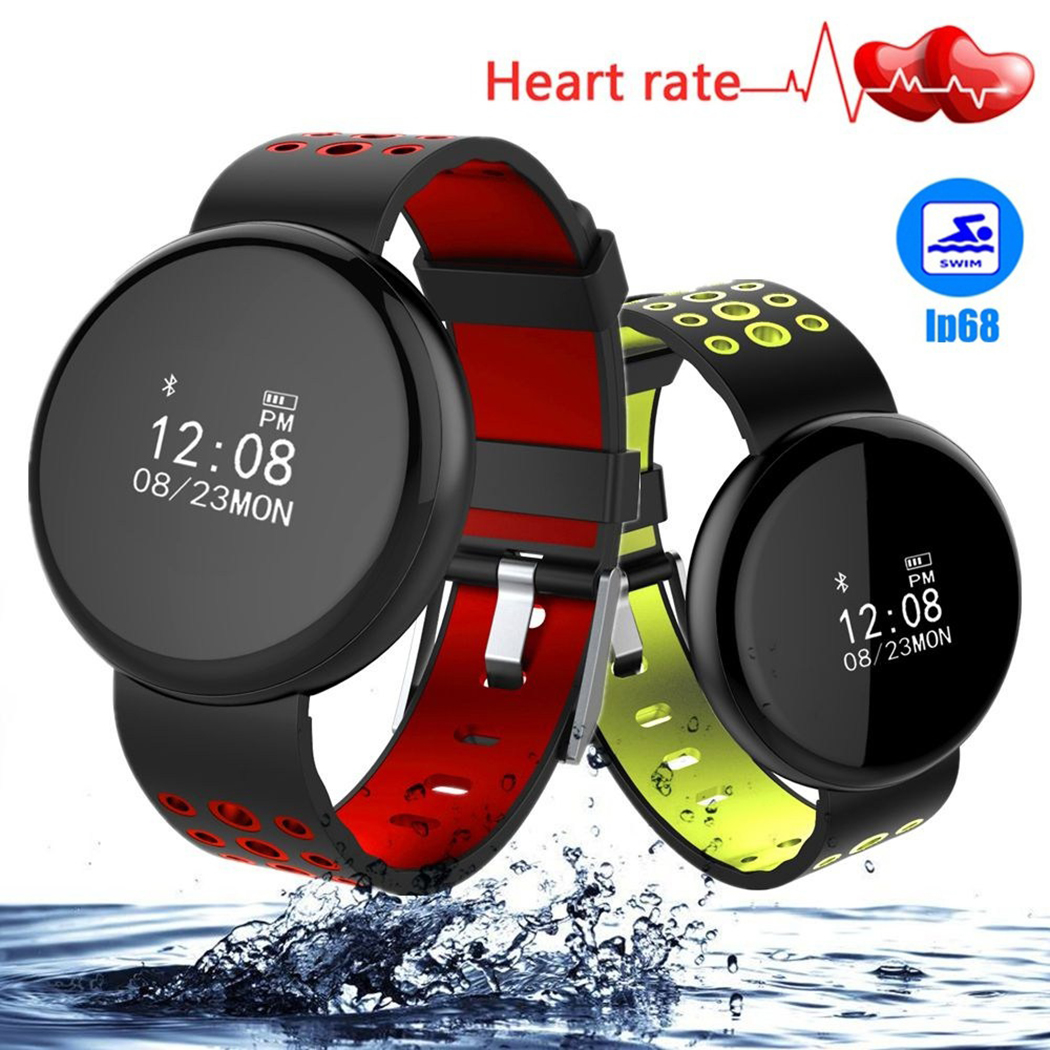Bluetooth Smart Band Watch IP68 Waterproof Blood Pressure Blood Oxygen Heart Rate Monitor Smart Bracelet Touch Screen Wristband