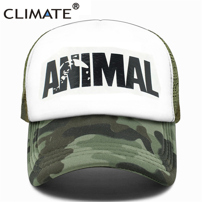 cde6c94135e Dropwow CLIMATE Men Animal GYM Mesh Trucker Caps Animal Print ...