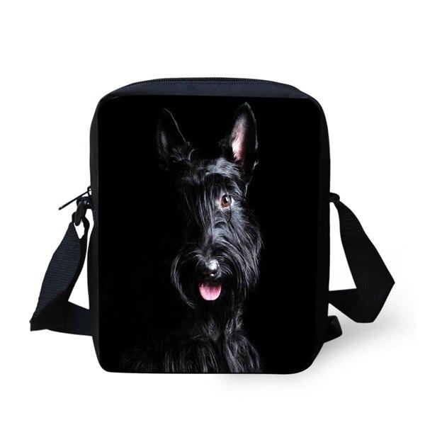 My Best Friend is Scottish Terrier Messenger Bag