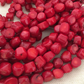 Natural Red Coral jasper 9~13mm lovely Irregular stone loose beads diy Romantic women charms Jewelry making 15 inch F386PE